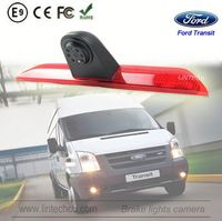 2016 New 3rd high mounted lights wide angle170 degree car reverse camera system for Ford custom