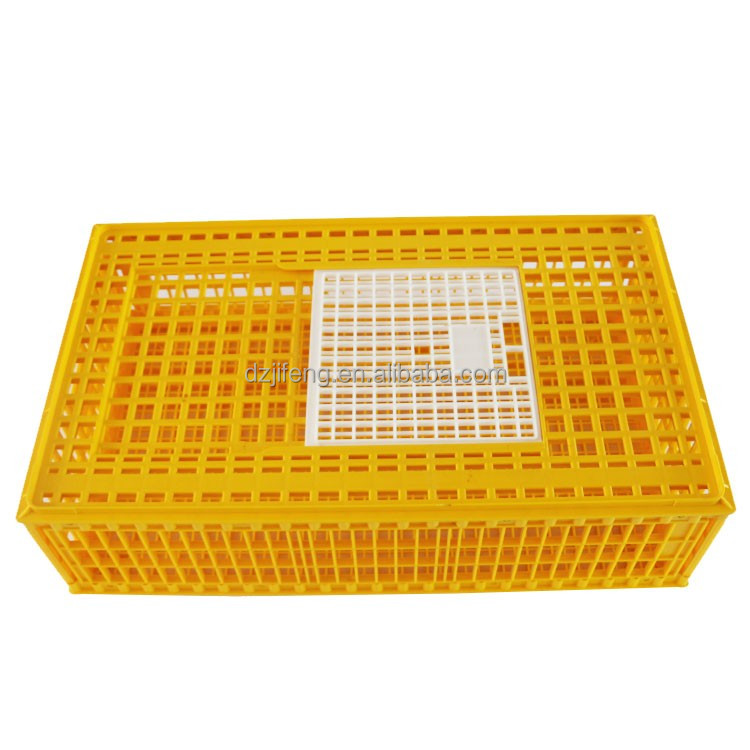 Wholesale farming equipment Design plastic transport coop fowl turnover cage chicken layer poultry cages for live chickens