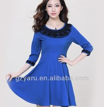 pictures of women in nightgown plain blue cotton dress