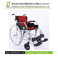Lightweight Handicapped Quick Release Wheelchair for sale