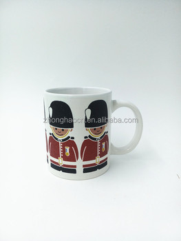 11oz ceramic mug with glitter printing for gifts