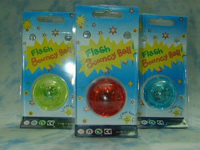 Bouncing Flash Sound Ball