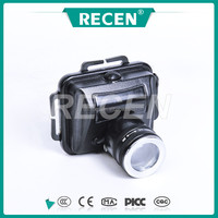 Micro explosion proof head lamp 3W lithium battery black aluminum alloy industrial good quality lamp RYFL815