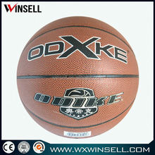 Wholesale lowest price pu basketball soccer ball