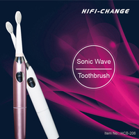 new battery powered Adult Sonic electric toothbrush with replacement head for dental care HCB-206