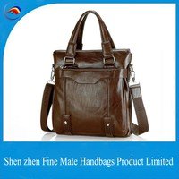 China manufacturer high quality men A4 File big shoulder suit business bag