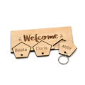 Custom Wooden Key Chain Holder for wall decor