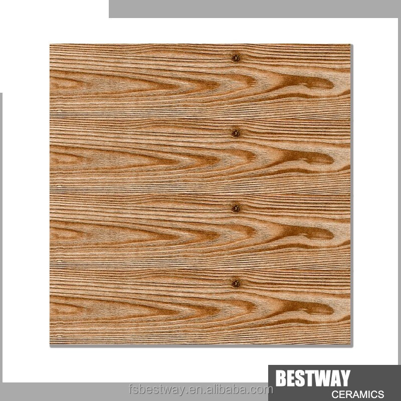Hot model brown color wood look ceramic floor tile