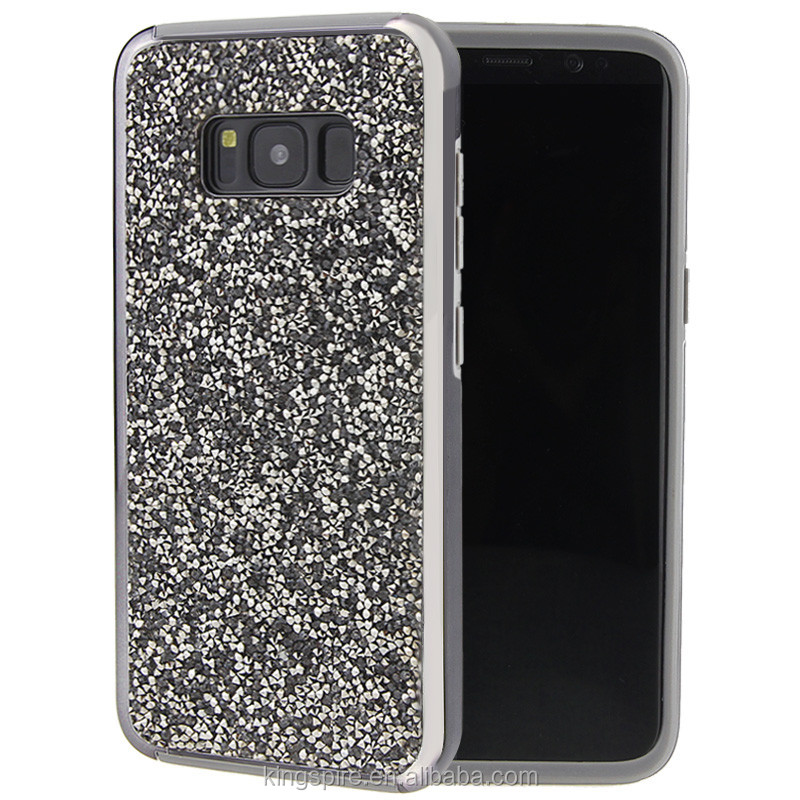 Full Diamond Bling Bling Power Phone Case For Samsung Galaxy S8
