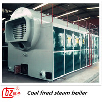 Automatic and Chain Grate Horizontal Coal/Wood Fired Steam Boiler US $4999-99999 / Set ( FOB Price)