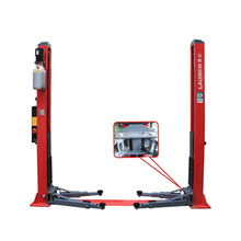 Double hydraulic cylinder and high strength chain Launch TLT235SBA Luxurious Floor Plate Two Post Lift 3.5Ton car lifts elevator