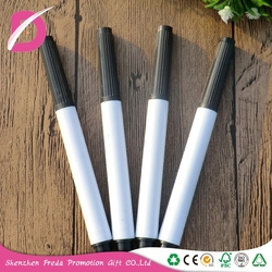 OEM custom printed dry erase multi-color white board paint marker pens