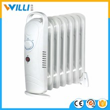 WL-X01 Hot sale home oil heater/Oil filled radiator 500W-900W with 5fins/7fins/9fins