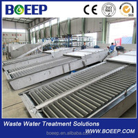 Fine tooth bar screen in slaughtering and breeding sewage treatment