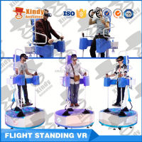 Newest Interactive Virtual Reality Standing Flight VR 9D Cinema Simulator