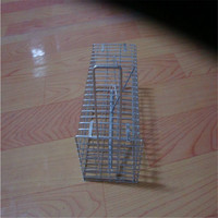 high quality galvanized rat cage