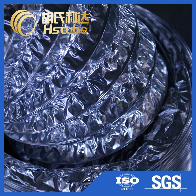 Manufacturer price custom design spiral flexible aluminum foil duct machine with good prices