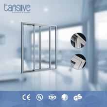 modern design Modular integrated housing office aluminium slider door