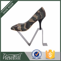 Factory retail supplier high-end steel decoration for shoe shop