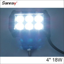 Hotsale New 4inch dual row 4wd offroad 18W led bar light