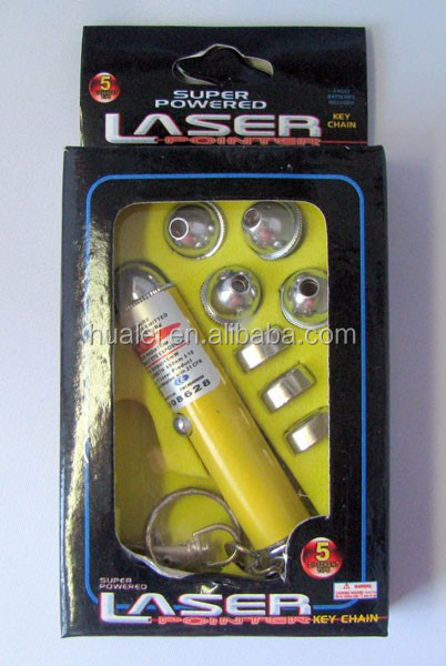5 in 1 Small Laser Pointer with1w laser,5w laser