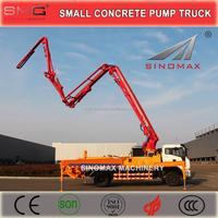 TOP! 33m Small Concrete Pump Truck, Concrete Boom Pump Truck for sale in China