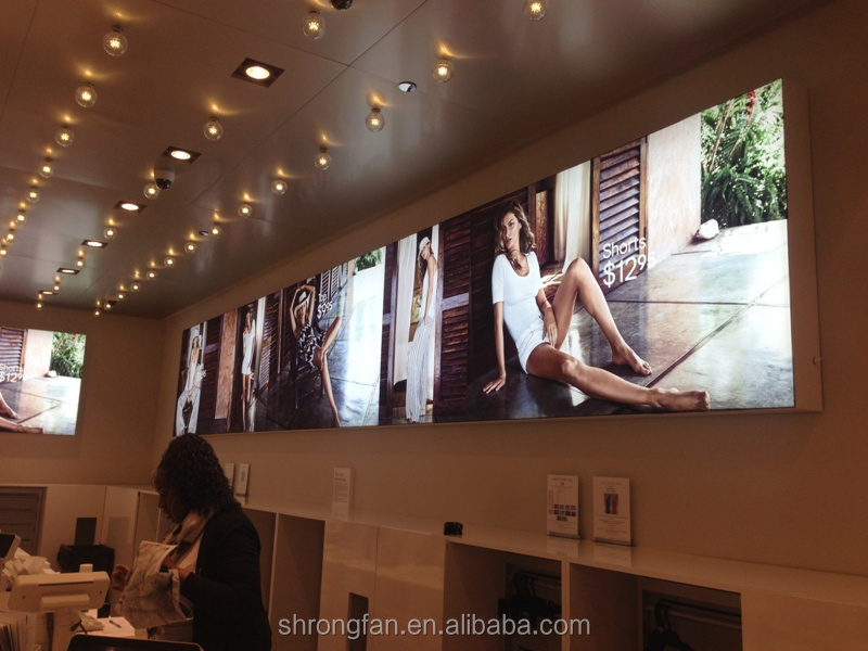 Outdoor SEG fabric frameless advertising display LED lighting boxes,new fabric LED light box textile frame