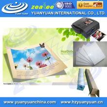 waterproof super glossy lucky photo paper for inkjet printing, 160gsm,180gsm,230gsm,240gsm 260gsm