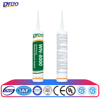 black waterproof mastic silicone sealant