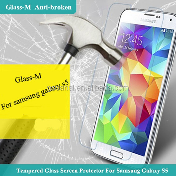 2017 Wholesale 2.5D 9 Hardness 0.33mm Anti-Scratch Tempered Glass screen protector For Samsung mobile phones