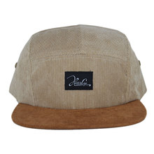 2016 Flat Brim Corduory 5 Panel Camp <strong>Hat</strong> Wholesaler