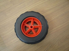 6inch plastic toy wheels for toy wagon 160x62mm