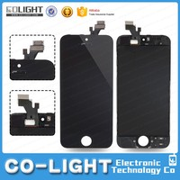 Competitive price lcd screen replacement for iphone 5 5s with digitizer paypal accepted