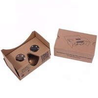 V2 Google Cardboard Virtual Reality Glasses
