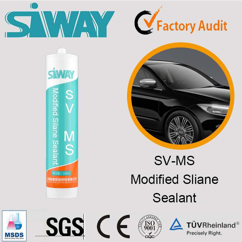 High quality MS Polymer silicone PU sealant for Autoglass/car paint adhesive