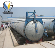 high pressure Autoclave Machine used in aac block making plant