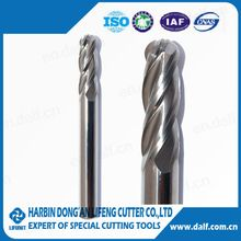 China manufacturer ball nose types of milling cutter
