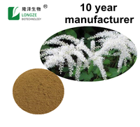 Natural Black Cohosh Extract Powder with Triterpene Glycosides 2.5%,5%,8%