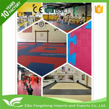 non-slip used gymnastic mats eva foam sheet taekwondo equipment for wholesales