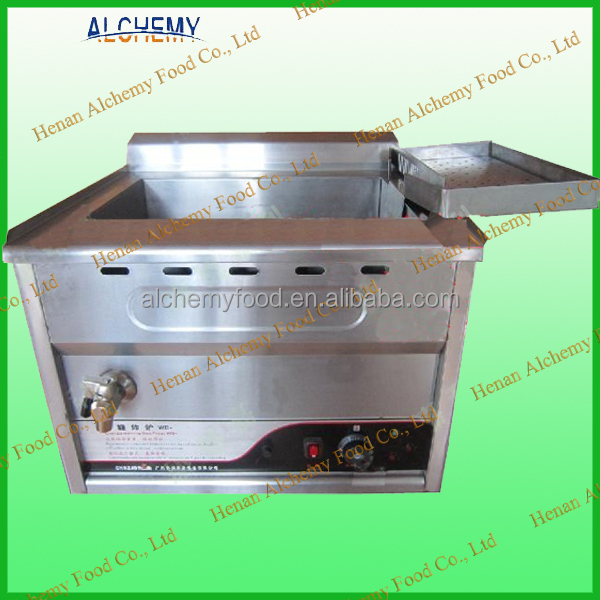 hot sale oil-water mixed electrical deep fryer/ potato chips frying machine