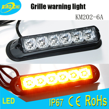 Wholesale IP67 10-30V high power LED universal mini grille emergency warning light for truck trailer