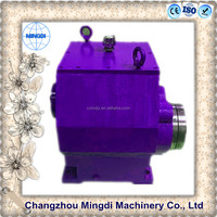 CVT Three- Stage Non-backlash Spur Transmission Gearbox Parts With Electric Motor for Flying Saw Machine
