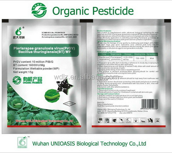 Efficient fruit pest control and killing biopesticide