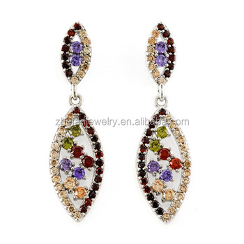 Latest Fashion Gold Earrings Models Italian Costume Jewellery