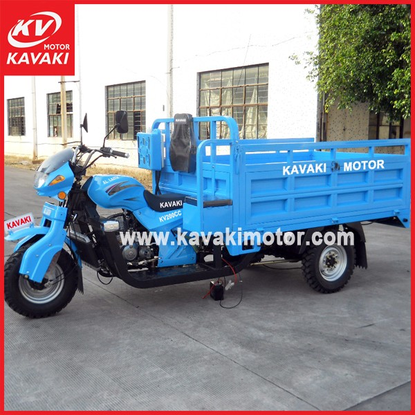 Best Selling Big Tricycle Gasoline CCC Tipper China Cars In Pakistan With Good Quality