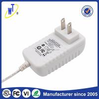 Shenzhen wentong universal 12v 3a power adapter wall mounting US plug DOE VI 36W ac dc adapter