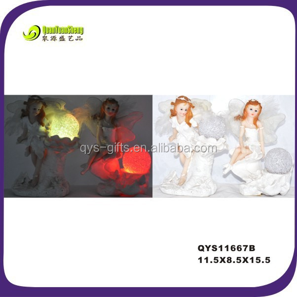 Funny Figurine Angels Polyresin,fairy figurines wholesale