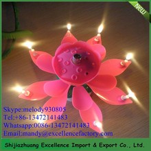 cheap flower birthday candle /Mob:+86-13472141483