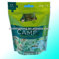 Factory Export 0.12mm High Quality Laminated Foil Medicine Zipper Bags