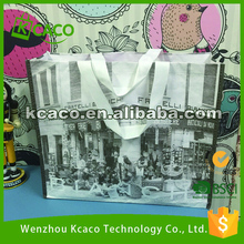 Eco reusable colorful foldable non woven tote bag